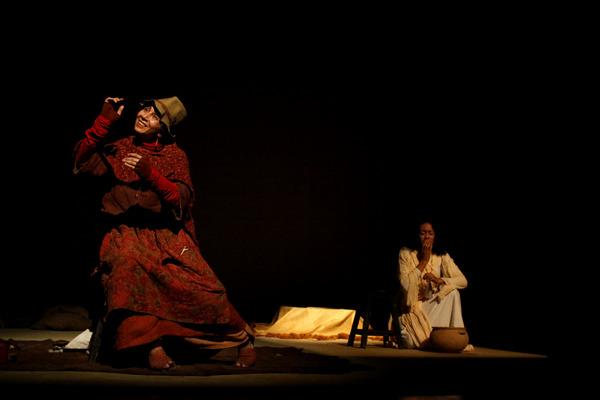 Espetáculo: 'La Flor de la Chukirawa'. Foto: Luis Sandoval