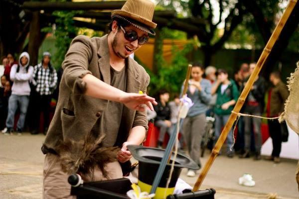Espetáculo: 'Varre Dor de Vadiagem'. Foto: Sueliton Lima