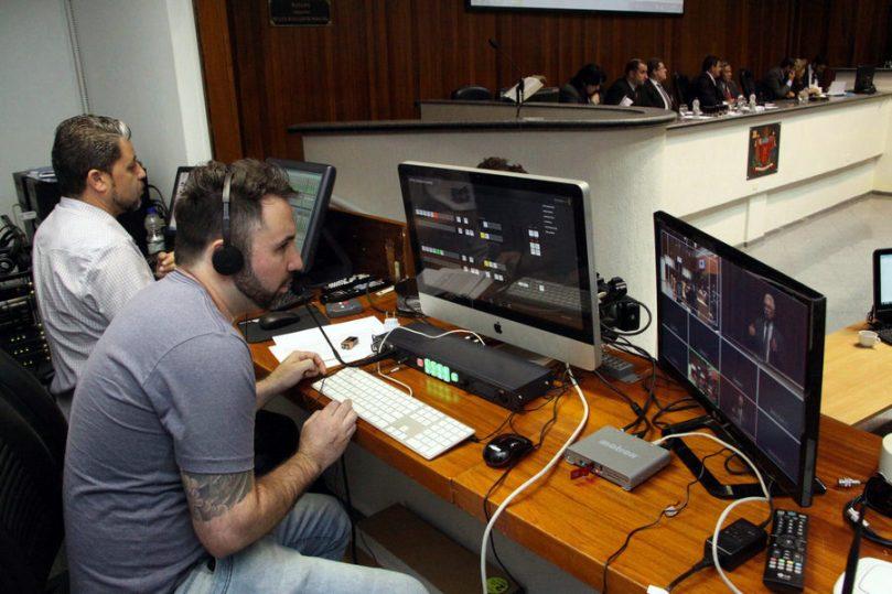 Transmissões online na Câmara Municipal