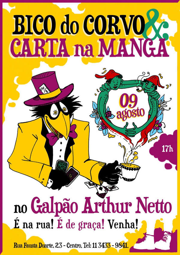Bico do Corvo & Carta na Manga