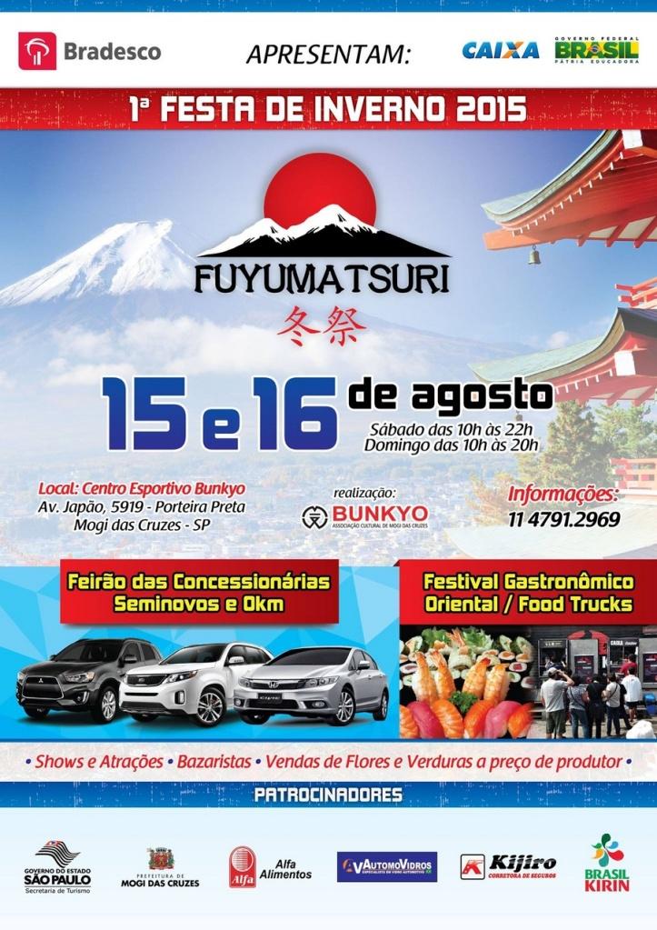 1ª Festa de Inverno Fuyumatsuri