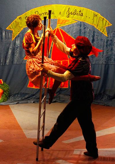 Espetáculo: 'Se Romeu e Julieta...'. Foto: Divulgação/ Internet