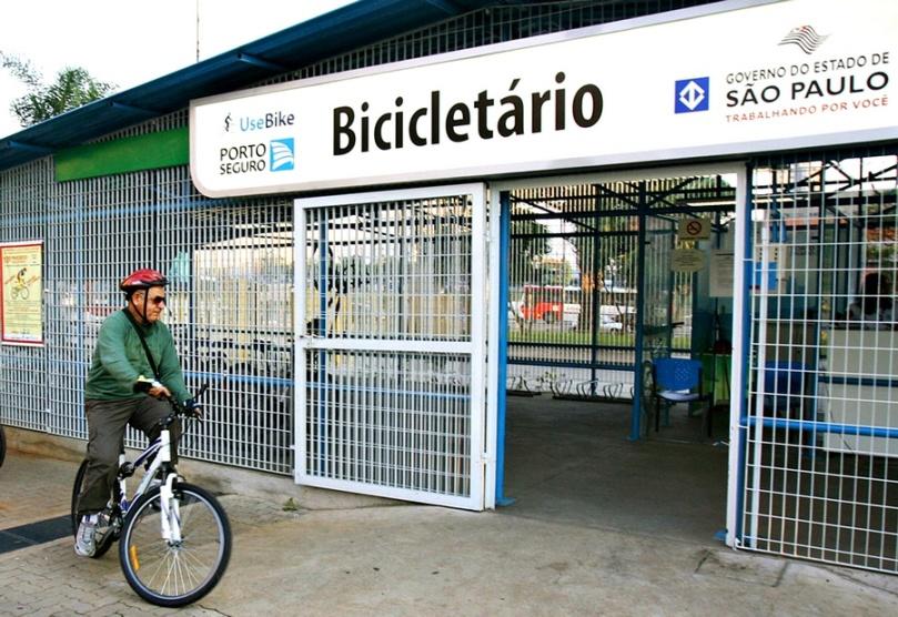 Bicicletário CPTM