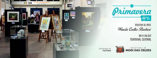 """Mostra de Arte 60 Mais Mogi """"Wanda Coelho Barbieri"""""""