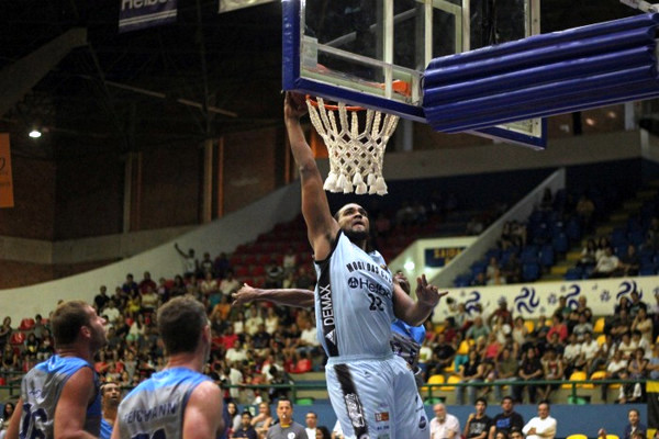 Lucas Mariano, do Mogi. Foto: Antonio Penedo/ Mogi-Helbor