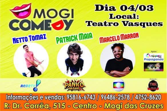 1º Mogi Comedy