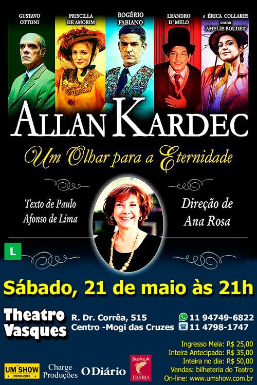 'Allan Kardec - um olhar para a eternidade'
