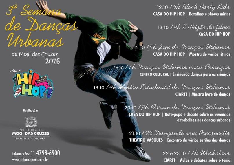3ª Semana de Danças Urbanas