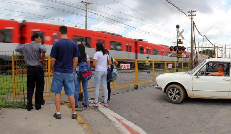 passagem de nível da Rua Presidente Campos Salles