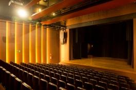 Teatro do Sesc Jundiaí. Foto: Adauto Perin