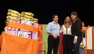 A empresa Vermont já fez a primeira doação para a campanha Natal de Sorrisos, com um total de 250 brinquedos entregues. Foto: Ney Sarmento/ PMMC